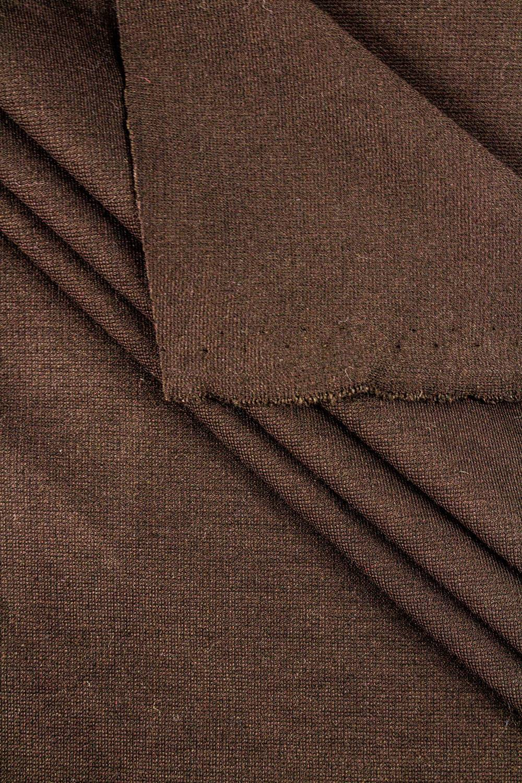 Dzianina punto czekoladowy - 140cm 310g/m2