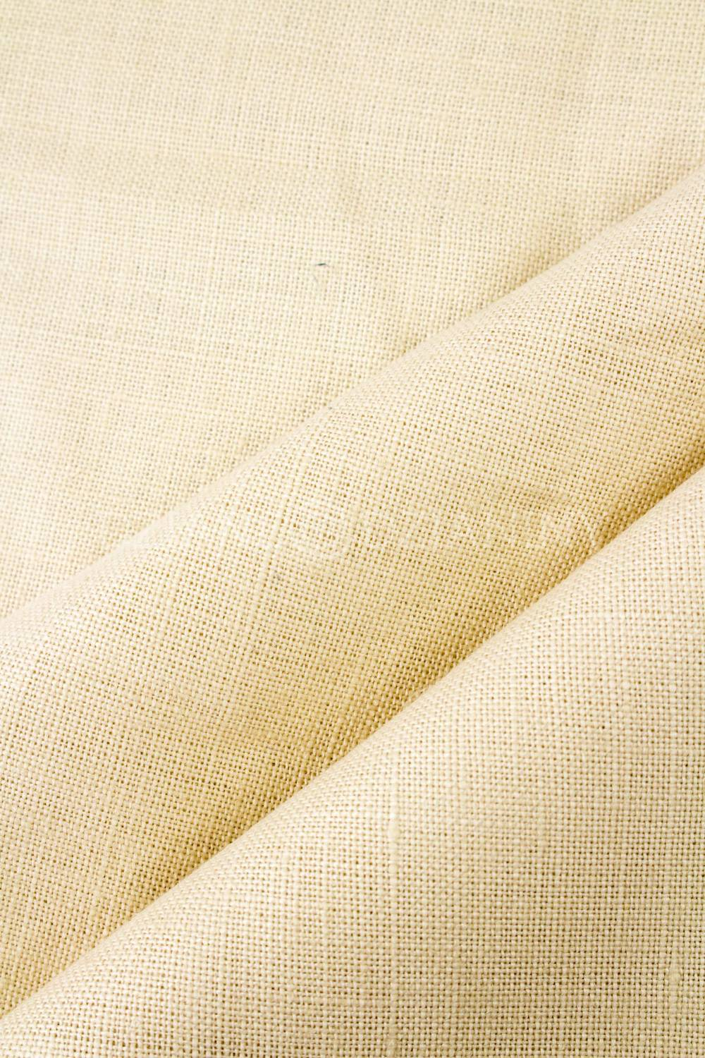 Fabric - Linen - Ecru/Natural - 115 cm - 225 g/m2