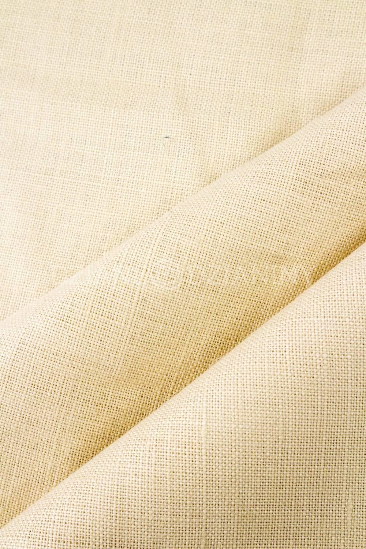Tkanina lniana w kolorze naturalnym - 115cm 225g/m2