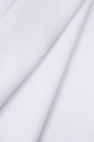Dzianina interlock biały - 185cm 290g/m2 thumbnail