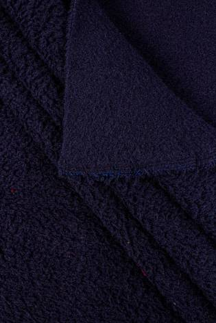 Knit - Fleece - Thick - Navy Blue - 145 cm - 400 g/m2 thumbnail