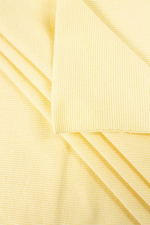 Ściągacz prążkowany kanarkowy żółty - 50/100cm 220g/m2