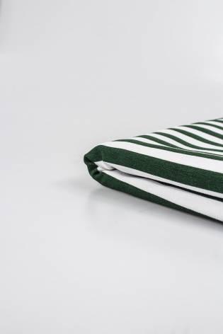 Dzianina jersey w zielone...