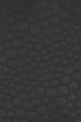Dzianina wytłaczana czarna kropki KUPON 6MB thumbnail