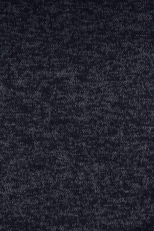 Dzianina żakardowa granatowy melanż z meszkiem KUPON 4,50MB thumbnail