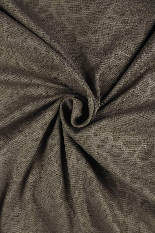 Knit - Embossed - Dark Beige - 10 rm (Pre-cut)