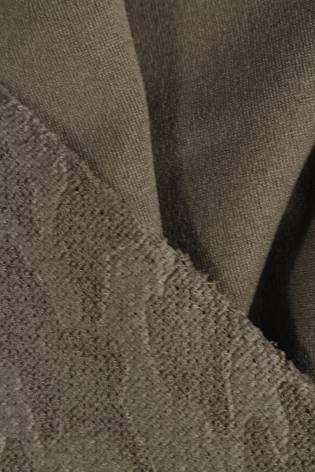 Knit - Embossed - Dark Beige - 10 rm (Pre-cut) thumbnail