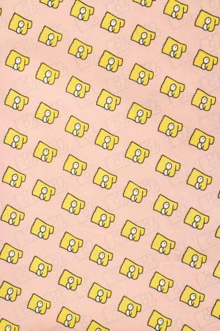 Fabric - Koshibo - Pink - Bart - 150 cm - 100 g/m2 thumbnail