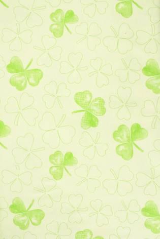 Dzianina jersey - zielony w koniczyny - 175cm 170g/m2 thumbnail