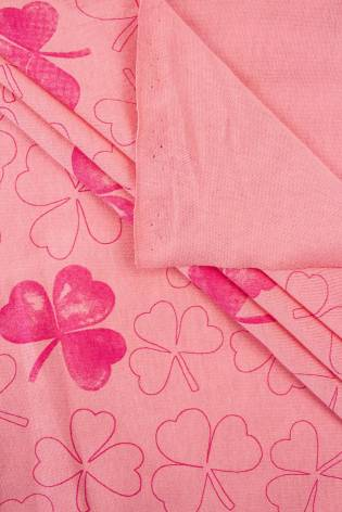 Knit - Jersey - Coral With...