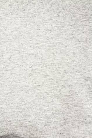 Knit - French Terry Sweatshirt - Grey Melange With Dark Bottom Layer - 180 cm - 300 g/m2 thumbnail