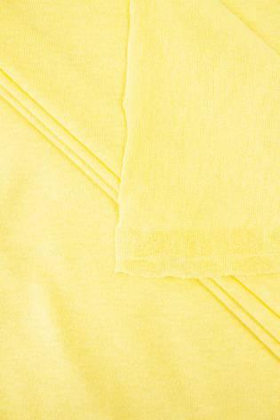 Dzianina jersey bawełniany kanarkowy - 175cm 100g/m2 thumbnail