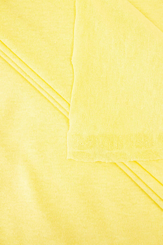 Dzianina jersey bawełniany kanarkowy - 175cm 100g/m2