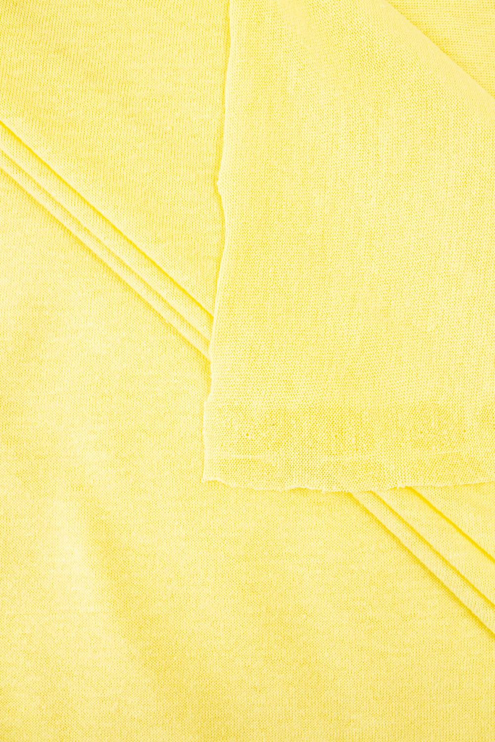 Knit - Jersey - Canary Yellow - 175 cm - 100 g/m2