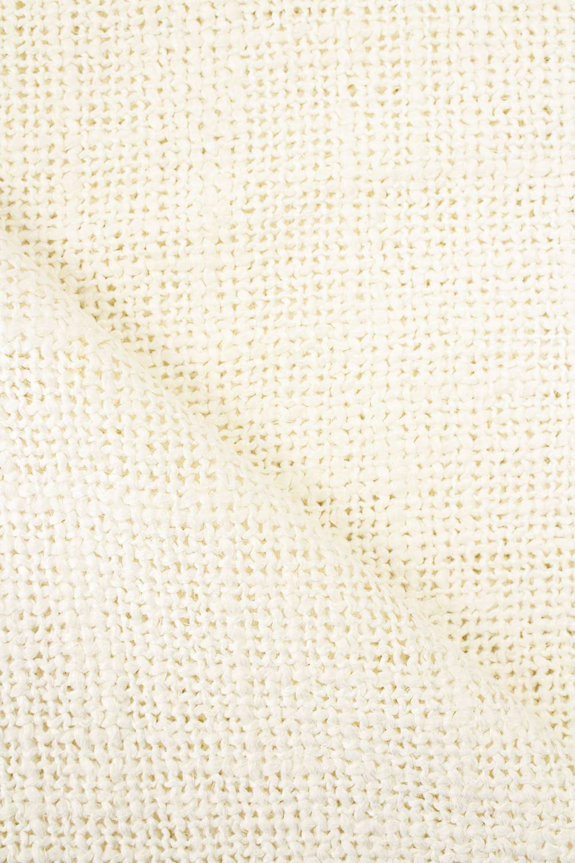 Fabric - Linen - Thick Weave - Cream - 145 cm - 325 g/m2