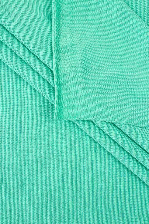 Dzianina jersey wiskozowy - miętowy  - 150cm 180g/m2