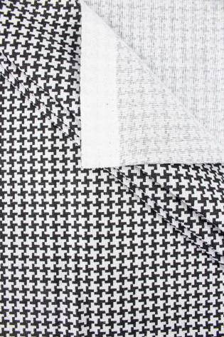 Fabric - Cotton - Dog Tooth...