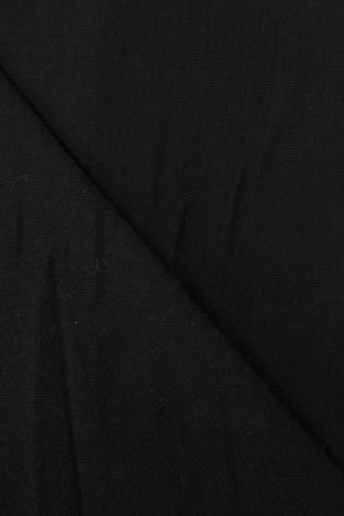 Tkanina lniana gładzona - czarna -  155cm 180g/m2 thumbnail