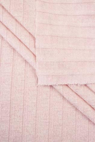 Dzianina sweterkowa wiskozowa - róż - 150cm 190g/m2 - 1