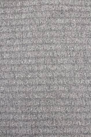 Knit - Sweater Type - Grey Melange - 150 cm - 190 g/m2 thumbnail