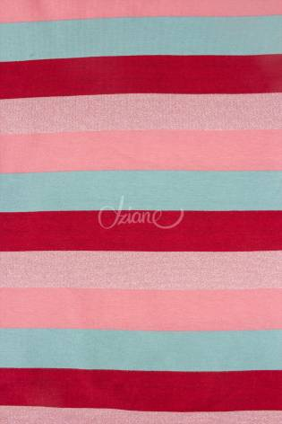 Knit - French Terry - Colourful Stripes - 160 cm - 240 g/m2 thumbnail