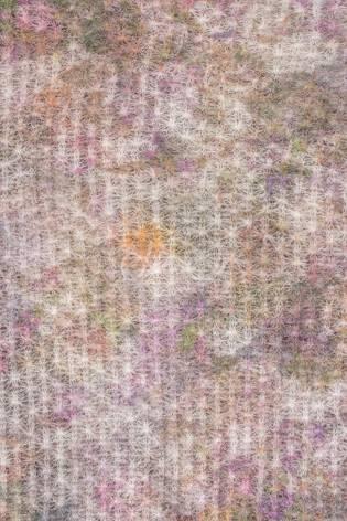 Knit - Boiled Wool - Pink & Cream - 150 cm - 90 g/m2 thumbnail