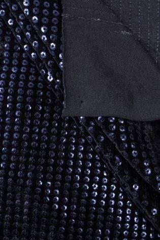 Knit - Velour - Navy Blue...
