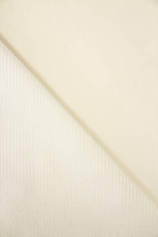 Tkanina sztruks - smietankowy - 150cm 290g/m2 thumbnail