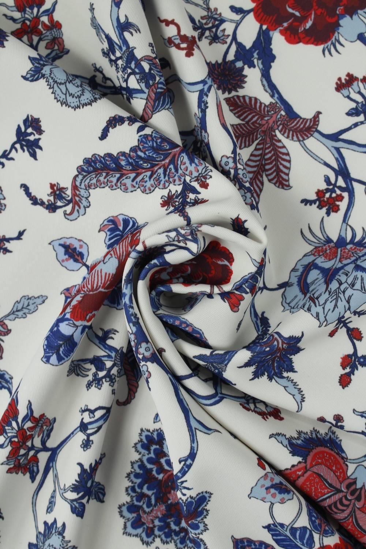 Fabric - Scuba - Flowers - 2 rm (Pre-cut)