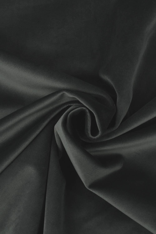 Fabric - Velour - Graphite - 2 rm (Pre-cut)