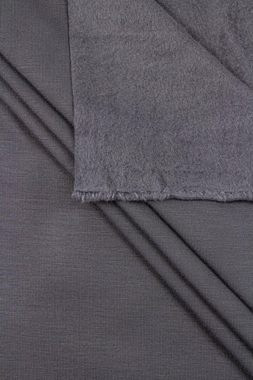 Knit - Sweatshirt Fleece - Dark Grey - 170 cm - 320 g/m2
