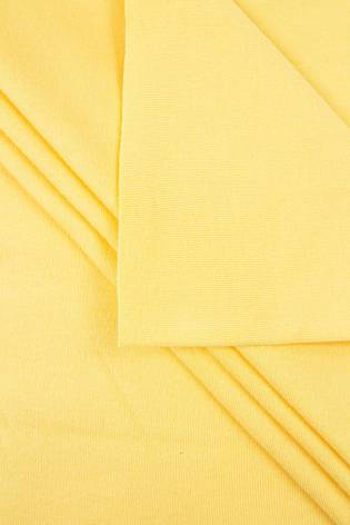 Knit - Interlock - Yellow - 150 cm - 210 g/m2 thumbnail