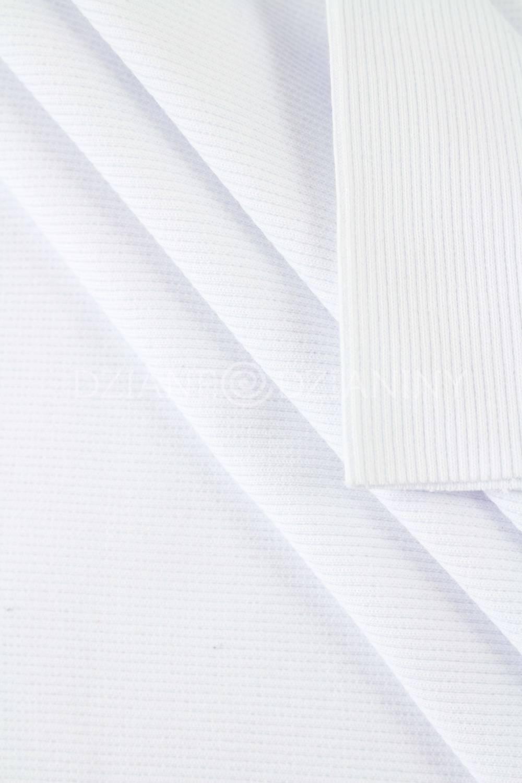 Ściągacz prążek - Biały - 50cm/100cm 400g/m2