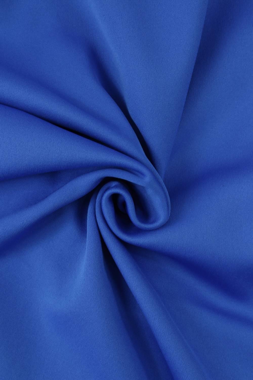 Dzianina niebieska dresowa/polarek KUPON 2 MB