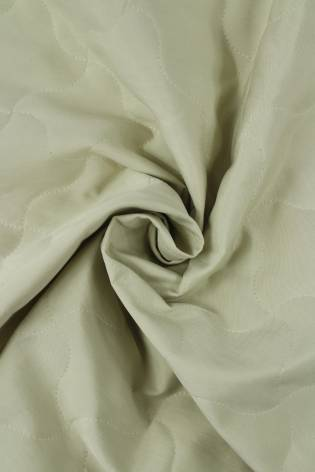 Fabric - Quilted - Beige/Light Olive - 2 rm (Pre-cut) thumbnail