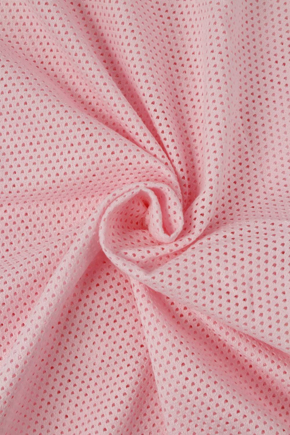 Knit - Perforated - Pink - 2 rm (Pre-cut)