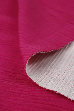 Knit - Ribbed - Fuchsia - 2 rm (Pre-cut) thumbnail