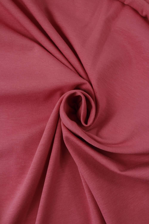 Dzianina jersey wiskozowy różowy KUPON 2 MB