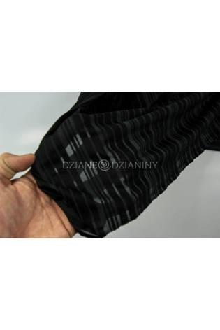 Dzianina wiskozowa transparentna czarna - 150cm 180g/m2 thumbnail