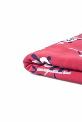 Knit - Sweatshirt Fleece - Raspberry - Panda - 170 cm - 270 g/m2 thumbnail