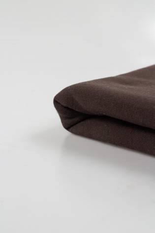 Knit - Sweatshirt Fleece - Chocolate - 170 cm - 300 g/m2 thumbnail