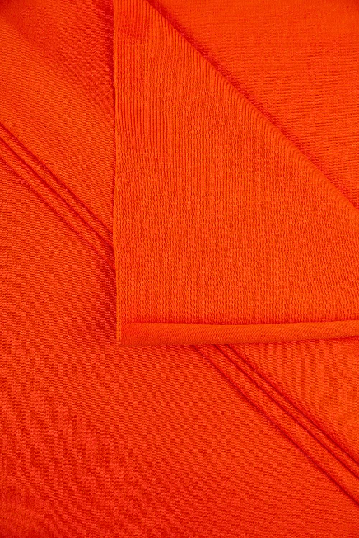 Dzianina jersey - pomarańczowy - 180cm 165g/m2