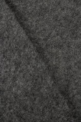 Dzianina sweterkowa ciemnyszary melanż - 140cm 170g/m2 - 1