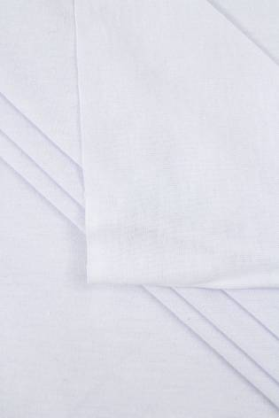 Dzianina jersey - biały  - 180cm 130g/m2 thumbnail