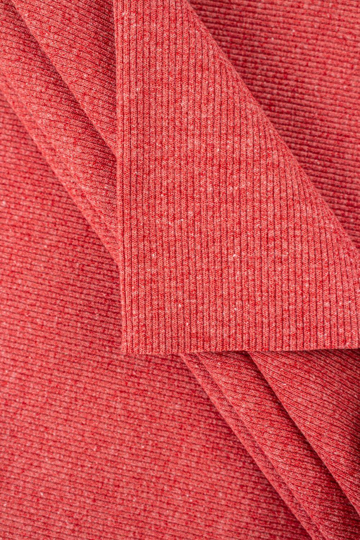 Knit - Welt - Ribbed - Raspberry