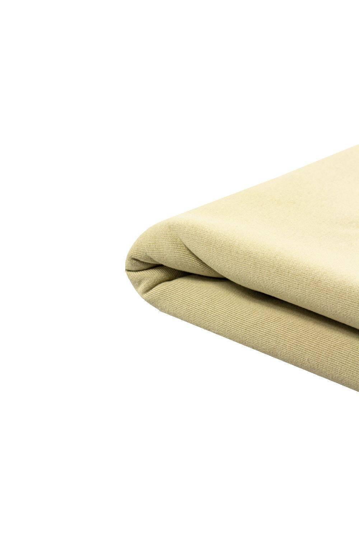 Dzianina dresowa drapana - oliwka/khaki - 175cm 275g/m2