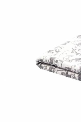 Knit - Sweatshirt Jacquard - Grey Houses - 170 cm - 210 g/m2 thumbnail