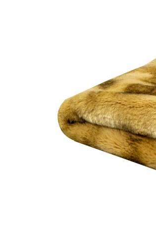 Tkanina futerkowa karmelowa przypalana - 140cm 710g/m2 thumbnail