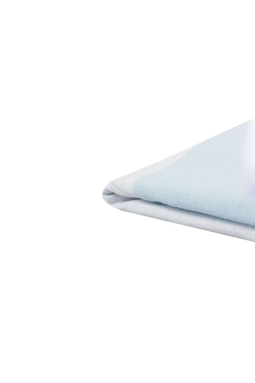 Knit - Jersey - Colourful Stripes (Light Blue, Navy Blue, White, Green) - 150 cm - 180 g/m2