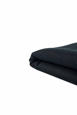 Fabric - Linen - Black - 140 cm - 300 g/m2 thumbnail